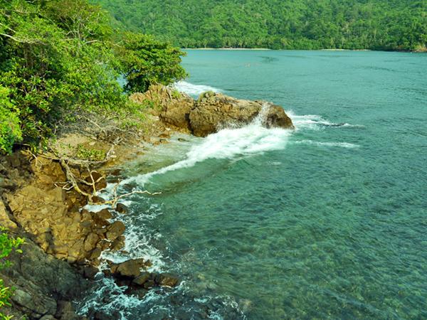 Laguna Timur Pulau Kelapa, Kiluan