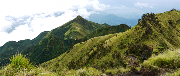 Merbabu - Peak view 1