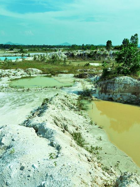 Belitung Island - Kaolin Lake, Tanjung Pandan