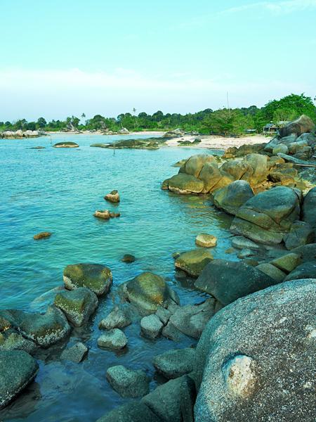 Belitung Island - Tanjung Tinggi beach