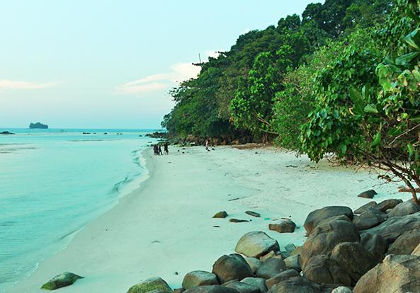 Belitung Island - Bukit Berahu beach