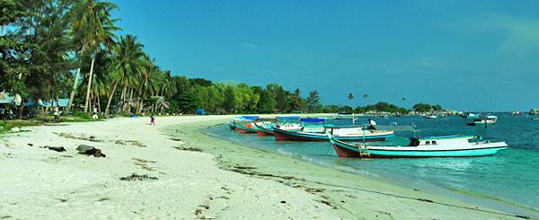 Belitung Island - Tanjung Kelayang beach