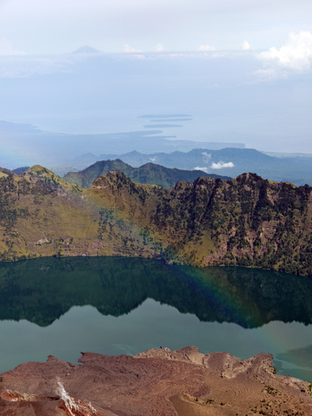 Rinjani National Park - Mount Baru Jari, Segara Anak Lake, Gili Sisters, And Mount Agung
