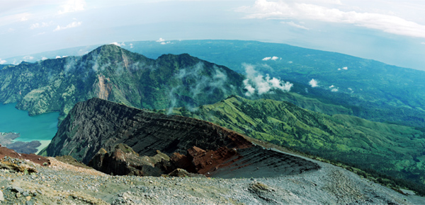 Rinjani National Park - Crater Rim, A Way To Anjani Peak