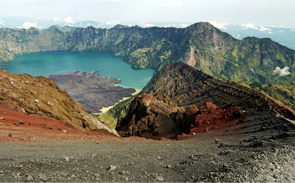 Rinjani National Park - Crater Rim, Trek Of Sand