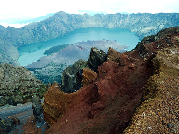 Rinjani National Park - View From Crater Rim