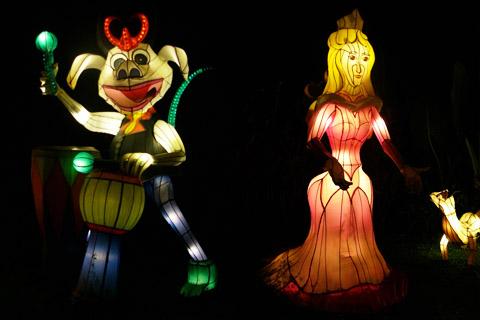 Batu Night Spectacular , The Lampions