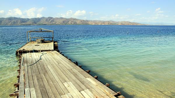 Dermaga Pulau Gili Nanggu