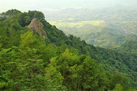 View Dari Puncak Gunung Margoboyo, Wonogiri