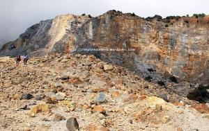 Menyusuri Kawah Gunung Papandayan