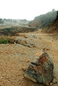 Jalur Longsor Papandayan