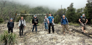Full team di Hutan Mati Papandayan