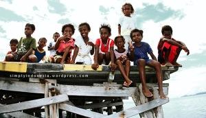 Anak-anak Kampung Arborek