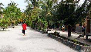 Suasana Kampung Arborek Di Siang Hari