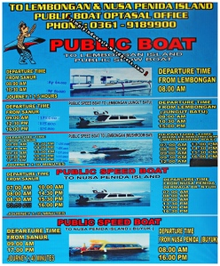 Optasal Office - Tarif Public boat dan Speedboat