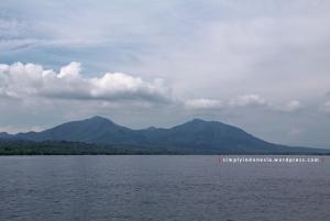 View menjelang Pelabuhan Gilimanuk