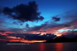 Sunset Raja Ampat Hari Pertama 1