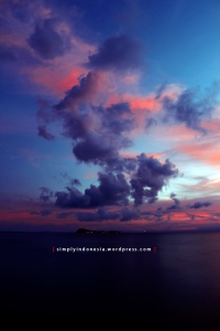 Sunset Raja Ampat Hari Pertama 2