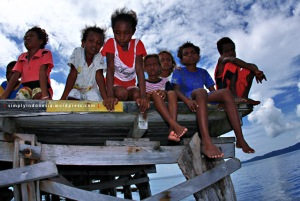 Anak-anak Kampung Arborek 1