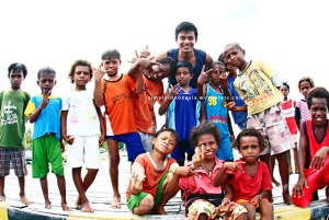 Anak-anak Kampung Arborek 2