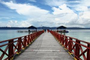 Dermaga Kampung Wisata Arborek 2