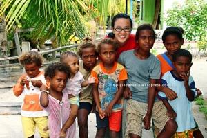 Bersama Anak-anak Kampung Arborek
