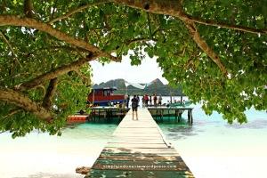 Dermaga Pulau Kawe