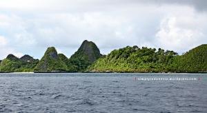 Menjelang Pulau Wayag 1