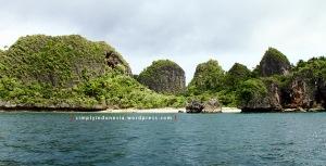 Menjelang Pulau Wayag 3