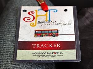 """TRACKER"" Tag HoS - Surabaya Heritage Track"