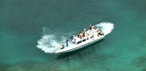 Speedboat Sewa Untuk Pergi Ke Pulau Wayag