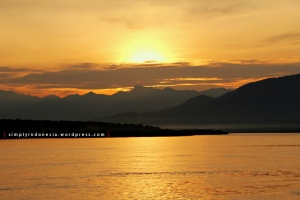 Sunrise Menjelang Pelabuhan Gilimanuk