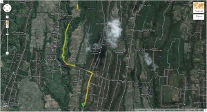 Peta Menuju Bukit Campuhan
