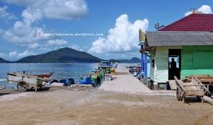 Dermaga Ketapang, Desa Batumenyan, Lampung