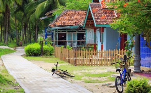 Kondisi Desa Suak Buah Pulau Pahawang