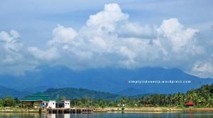 Lokasi tersesat pertama di Pulau Pahawang