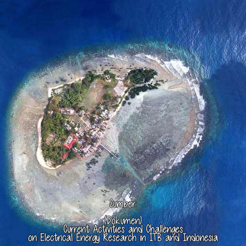 Foto Udara Pulau Sebira