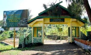 Gerbang Selamat Datang Gunung Tujuh