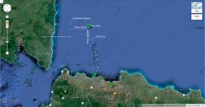 Batas Selatan dan Batas Barat Pulau Sebira