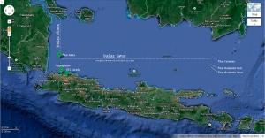 Batas Utara dan Batas Timur Pulau Sebira