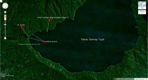 Peta Informasi Danau Gunung Tujuh