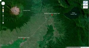 Peta Menuju Danau Gunung Tujuh