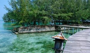 Menuju Kotok Blue Lagoon