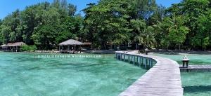 Dermaga utama Pulau Kotok Besar
