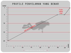 profile penyelaman yang benar