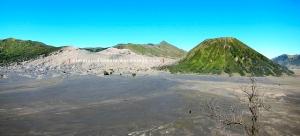 Panoramic view Bromo-Batok