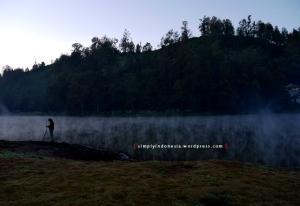 Danau Ranu Pani dalam skala