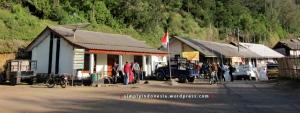 Desa Ranu Pani kala siang hari