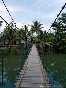 Jembatan Gantung Desa Sawarna