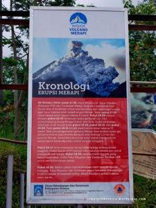 Kronologi Erupsi Merapi